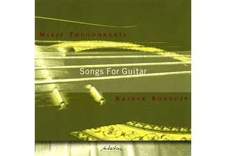 Rainer Rohloff - Songs For Guitar - (CD)