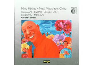 Ensemble Eclipse - Nine Horses-New Music from China - (CD)
