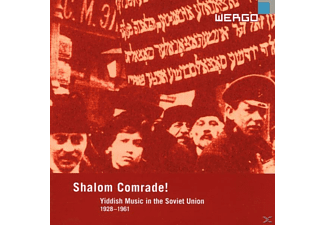 Aleksandrovitsh/Epelbaum/Gordon/Gorovets - Shalom Comrade ! Yiddish Music In The Soviet Union - (CD)