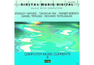 VARIOUS, Stanley Haynes, Rainer Boesch, Daniel Teruggi, Richard Teitelbaum - Computermusic Currents 8 - (CD)