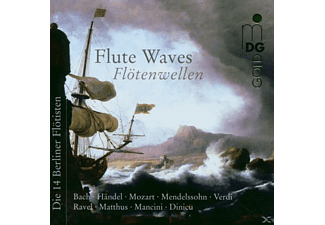 VARIOUS - FLUTE WAVES - (CD)