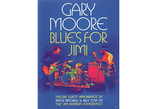 Gary Moore - BLUES FOR JIMI - (DVD)