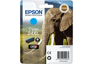 EPSON 24XL Cyan Claria Photo HD (C13T24324010)