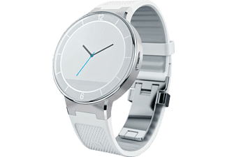 Smartwatch - Alcatel One Touch Watch Blanco, con 512 MB RAM, bluetooth y acabado metálico