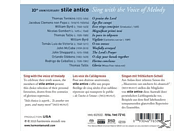 Stile Antico - Sing With The Voice Of Melody [SACD Hybrid]