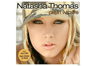 Natasha Thomas - Playin  With Fire - (CD)