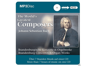 Johann Sebastian Bach - The World s Greatest Composers - (CD)
