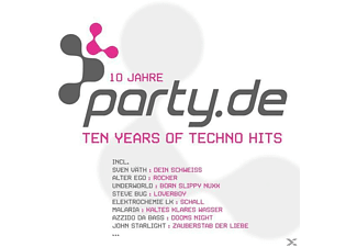 VARIOUS - Party.de-10 Years Of Techno Hits - (CD)