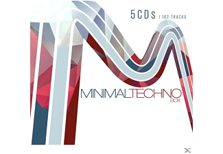 VARIOUS - Minimal Techno Box - (CD)