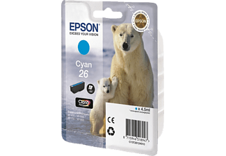 EPSON T26 Cyaan (C13T26124020)