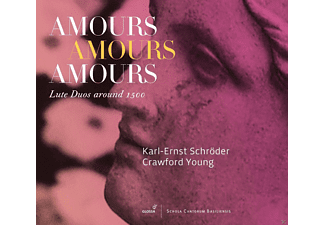 Karl-Ernst Schröder, Crawford Young - Amours Amours Amours - Lautenduos Um 1500 - (CD)
