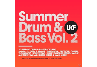VARIOUS - Ukf Summer Drum & Bass Vol.2 (Cd+Mp3) [CD]