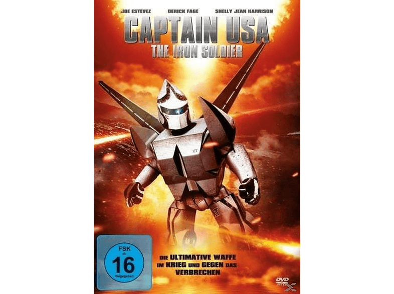 Captain USA - The Iron Soldier [DVD]