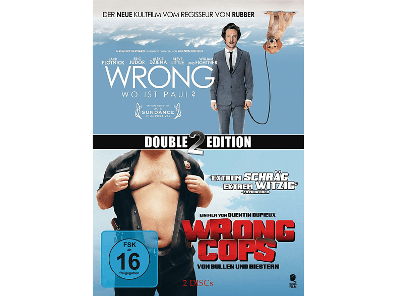 Wrong & Wrong Cops (Double 2 Edition) [DVD]