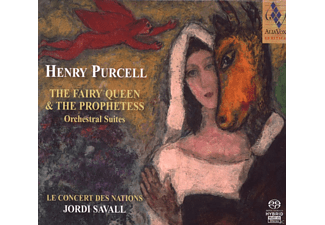 Jordi Savall, Concert Des Nations - The Fairy Queen & the Prophetess - (SACD Hybrid)