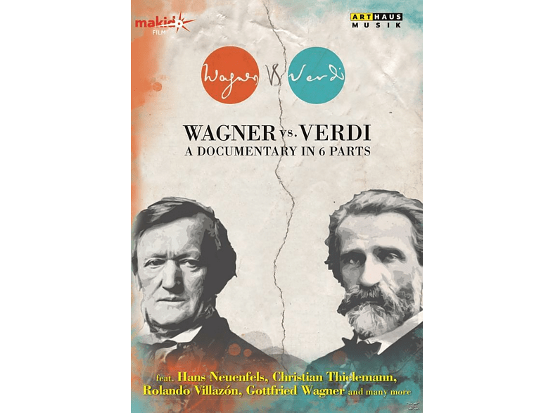 VARIOUS - Wagner Vs. Verdi - A Documentary In 6 Parts [DVD]