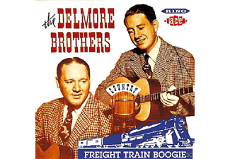 The Delmore Brothers - FRIGHT TRAIN BOOGIE - (CD)