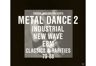 VARIOUS - Trevor Jackson Presents Metal Dance 2 - Industrial, New Wave & Ebm. Classics & Rarities [CD]