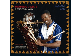MAMADOU DIABATE /  PERCUSSION MANIA - Masaba Kan - (CD)