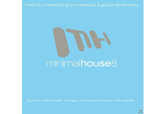 VARIOUS - Minimal House 8 - (CD)