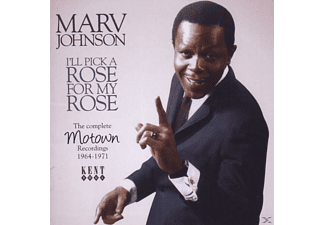 Marv Johnson - I'll Pick A Rose For My Rose-Complete Motown Recor - (CD)