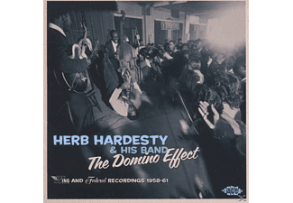 Herb Hardesty & His Band The Domino Effect - Wing And Federal Recordings 1958-61 [CD]