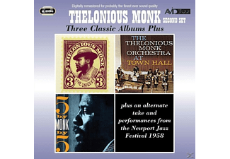 Thelonious Monk - 3 Classic Albums Plus - (CD)