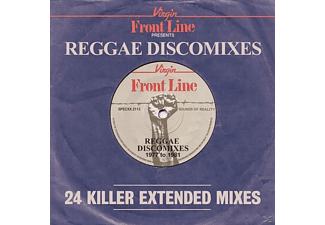 VARIOUS - Front Line Presents Reggae Discomixes - (CD)