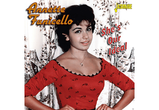 Annette Funicello - She's Our Ideal - (CD)