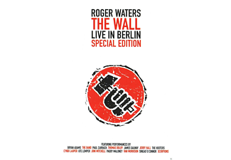 Roger Waters, VARIOUS - THE WALL SPECIAL EDITION - (DVD)