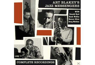 Art Blakey and the Jazz Messengers - Featuring Donald Byrd & Horace Silver-Complete - (CD)