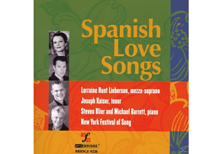 VARIOUS - SPANISH LOVE SONGS - (CD)