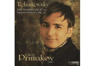 Vassily Primakov - THE SEASONS, OP. 37-BIS/GRAND SONAT - (CD)