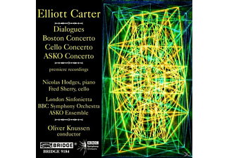 Lon Nicholas Hodges - Dialogues/Boston Concerto (E.Carter Vol.7) - (CD)