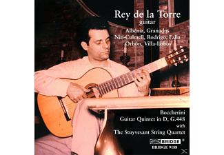 Stu Rey De La Torre - Guitar Quintet in D/Guitar Works - (CD)