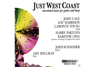 Amy John Schneider (gitarre) - Just West Coast - (CD)