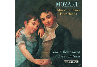 Art Nadia Rosenberg (klavier) - Music For Piano Four Hands - (CD)