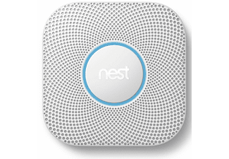 NEST Protect 2e Gen. rook- en koolmonoxidemelder (batterijvoeding)