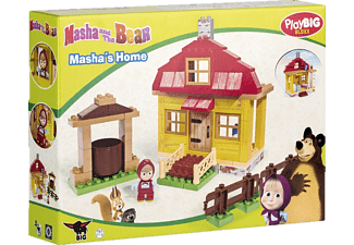 BIG 800057096 Bloxx Masha and the Bear - Masha's Home Bunt