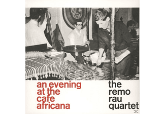 The Remo Rau Quartet - An Evening At The Cafe Africana - (Vinyl)