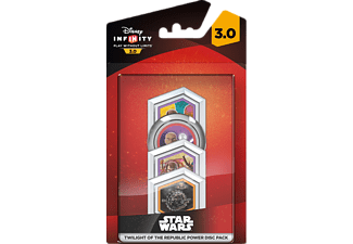 DISNEY FIGURE INFINITY3 TWILIGHT REPUBLIC PACK  Bonus-Münzen
