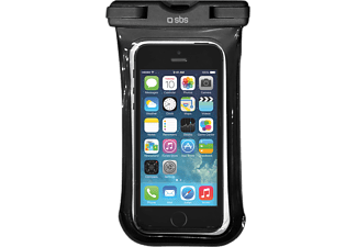 SBS MOBILE Waterproof Case till smartphones - Svart