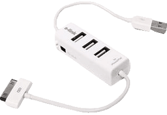S-LINK S-Link SL-IP330 3 Port Usb 2.0 Hub + Iphone Şarj