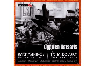 Cyprien Katsaris, GroSses Rfo Leipzig/orch.Radio-symp De Lille - Cyprien Katsaris Archives Vol.1 Russian Music - (CD)