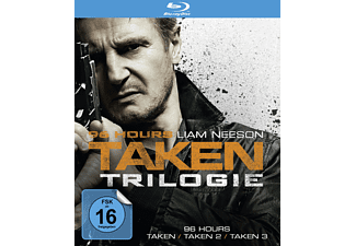 96 Hours - Taken 1-3 - (Blu-ray)
