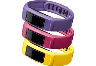 GARMIN Vivofit 2 Bands Energy (Canary/Pink/Violet) Large - (010-12336-04)