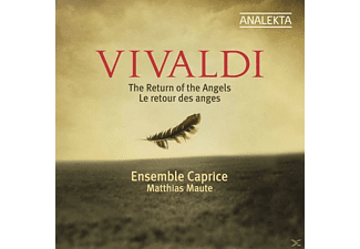 Matthias & Ensemble Caprice Maute - Vivaldi: The Return of the Angels - (CD)