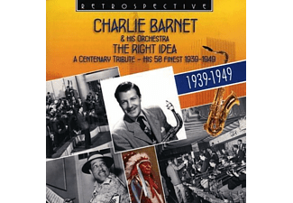 Charlie Barnet & His Orchestra - The Right Idea-A Centenary Trib - (CD)