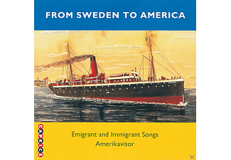 VARIOUS - From Sweden To America (Emigrant Songs) - (CD)
