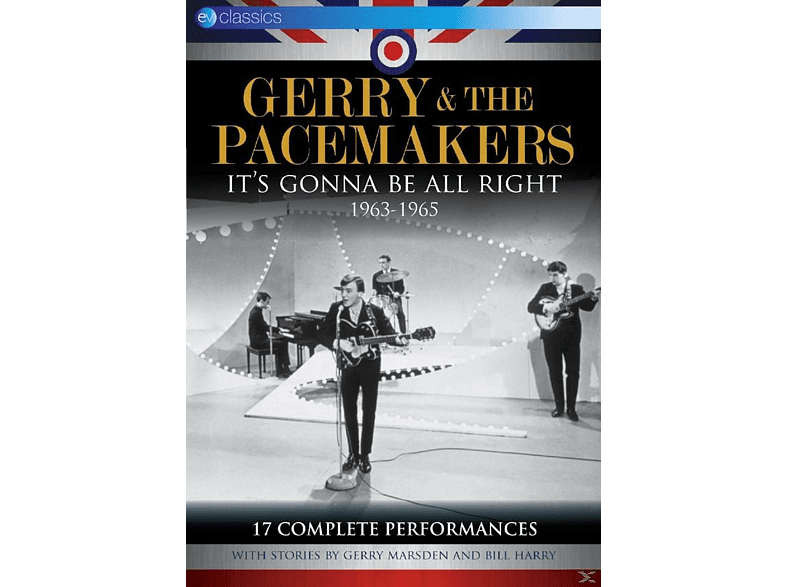 Gerry & The Pacemakers - It.S Gonna Be All Right 1963-1965 [DVD]
